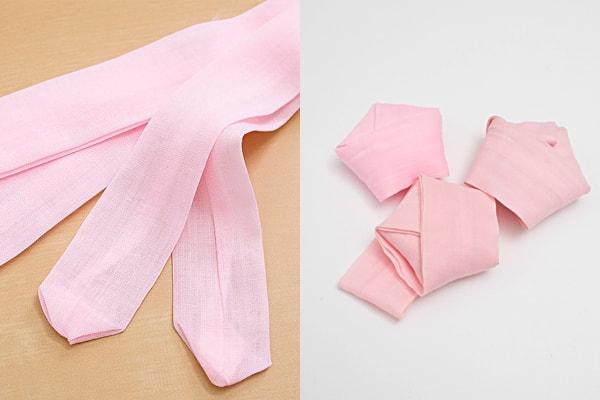 ピンクの腰紐