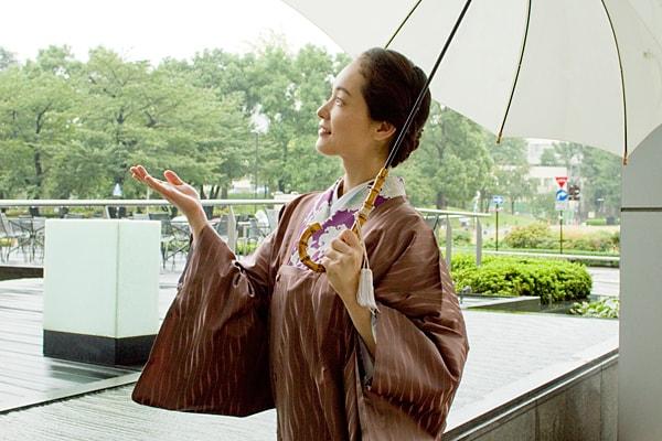 雨の日と着物