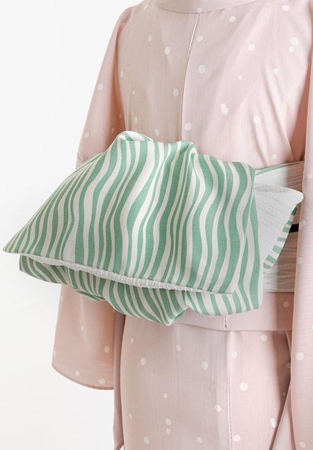 着物屋くるり 帯の種類 ファブリック帯(兵児帯)