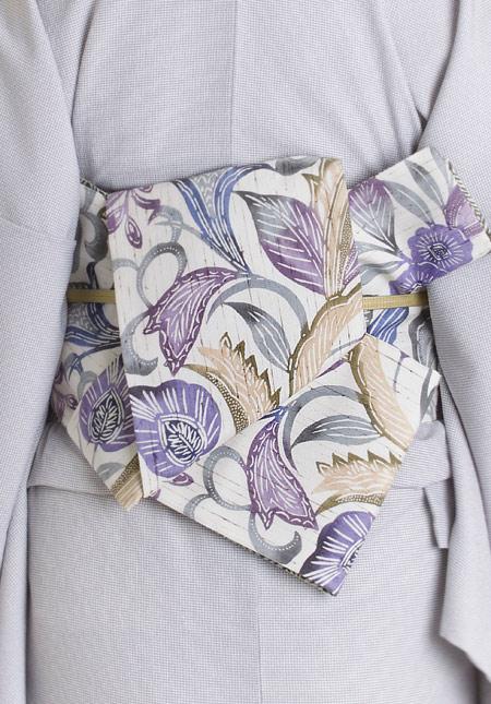 着物屋くるり 帯の種類 半幅帯
