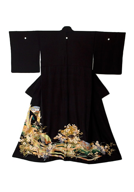 着物屋くるり 着物の種類 黒留袖