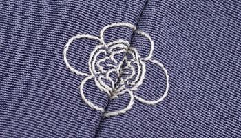 縫い紋:まつい縫い