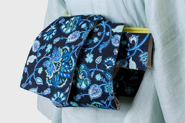 着物 帯 茶道 着付け 半幅帯