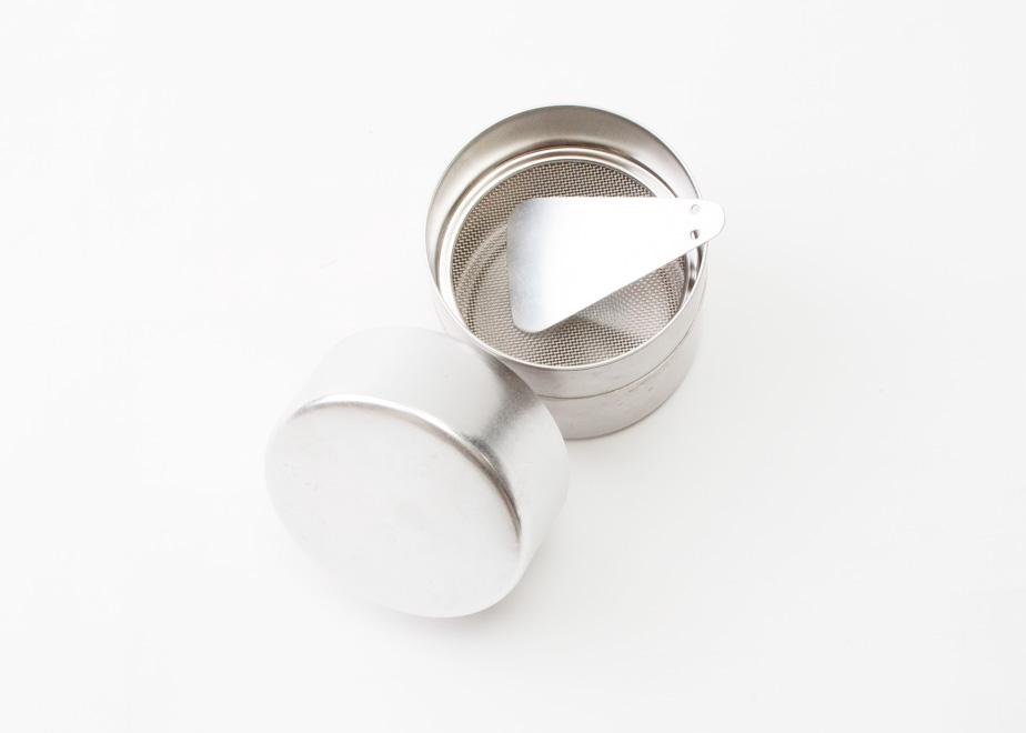 WAnocoto おうちお抹茶セット 茶こし缶