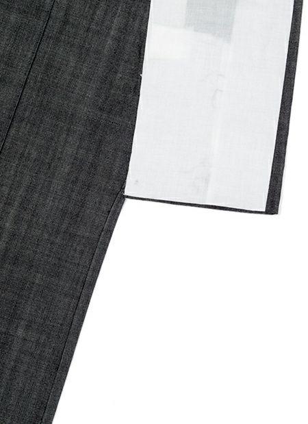 着物屋くるり デニム着物【GIZA】ブラック 商品詳細画像