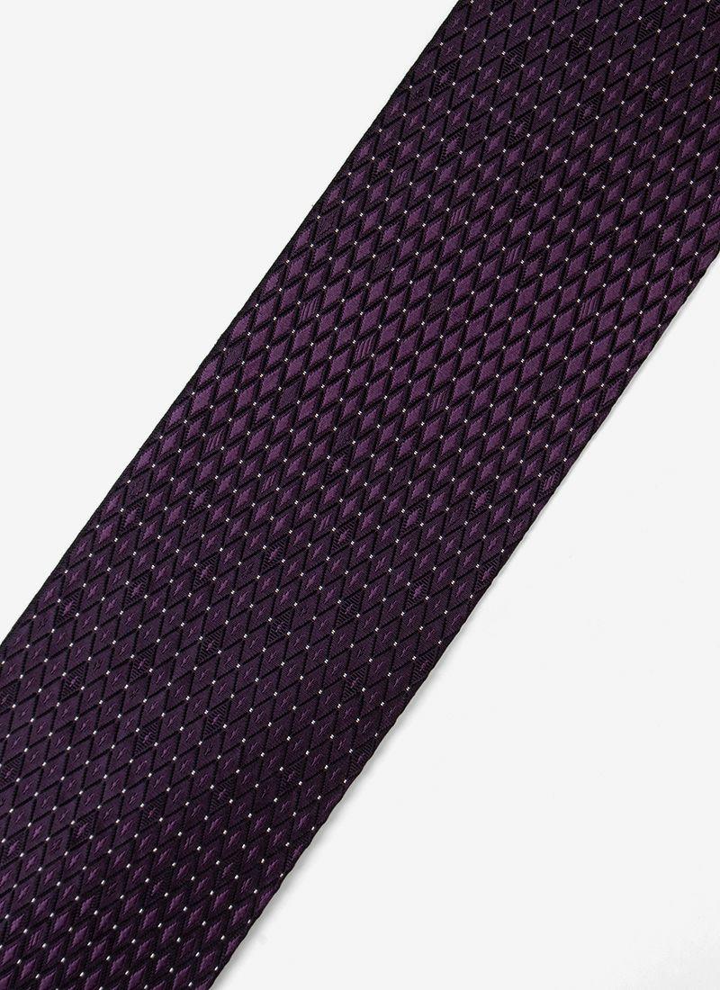 着物屋くるり 博多織名古屋帯【Glass】紫黒