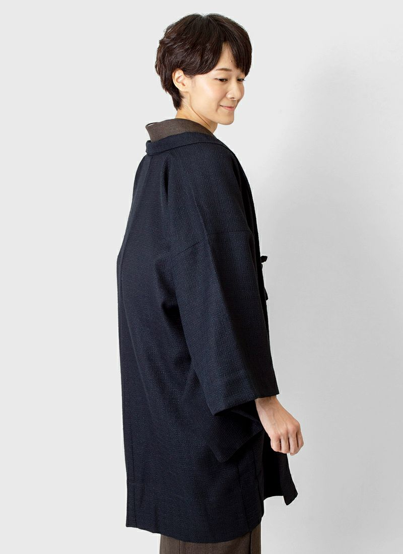 着物屋くるり 羽織【Haorie leger】ネイビー