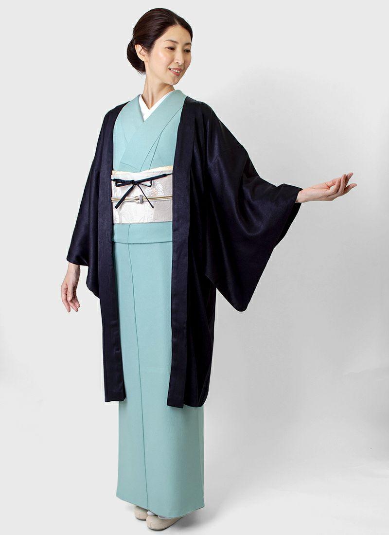 着物屋くるり 羽織【Haorie eclat】ディープバイオレット