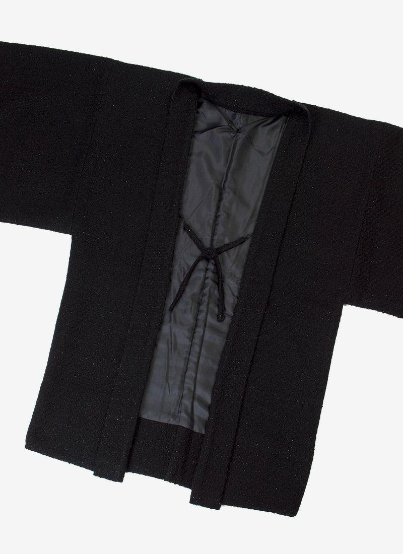 着物屋くるり ウォーム・アッシュ【tweed】ブラック