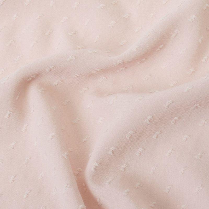 くるり 羽織【Haorie あわ雪】ピンク モデル着用