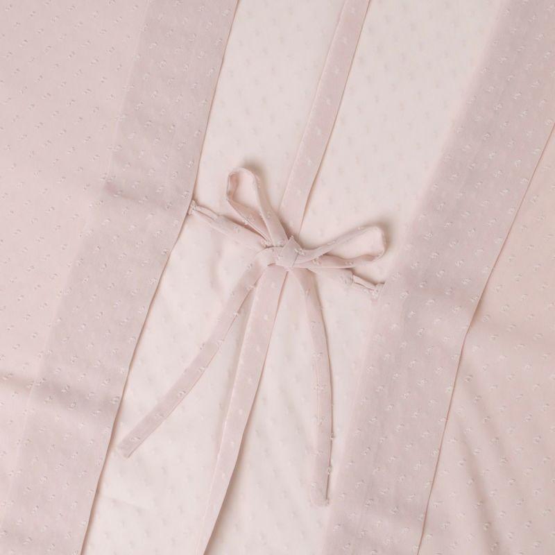 くるり 羽織【Haorie あわ雪】ピンク