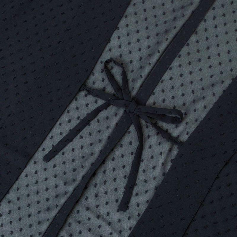 くるり 羽織【Haorie あわ雪】ブラック