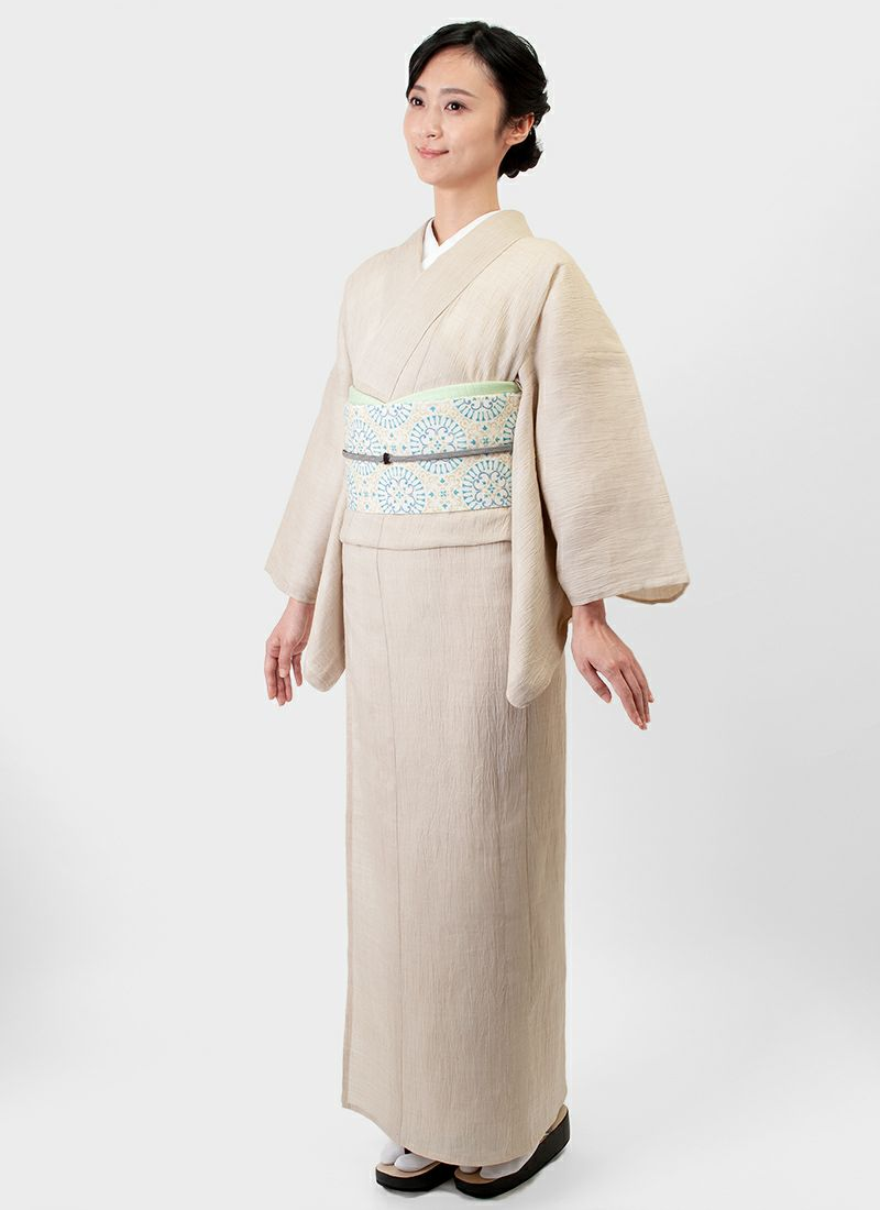 くるり 名古屋帯 【ibisa】シトロン