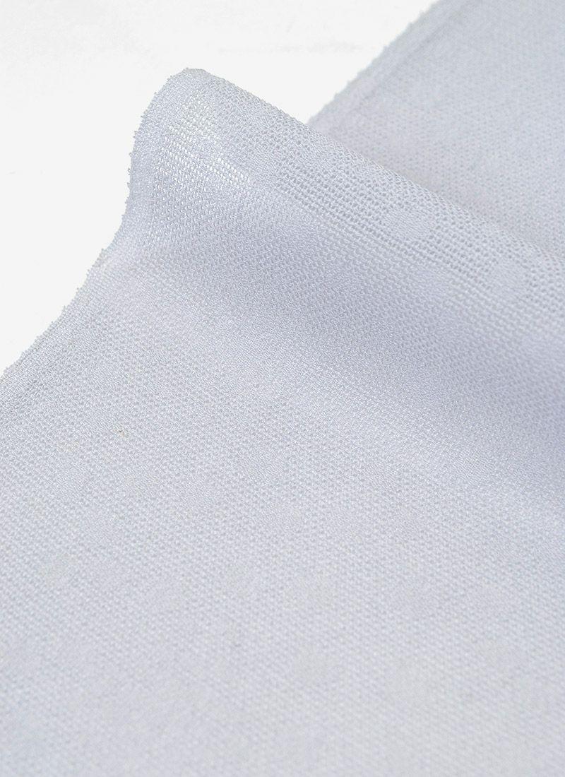 着物 くるり 正絹紗帯揚げ 【二色暈し】灰桜