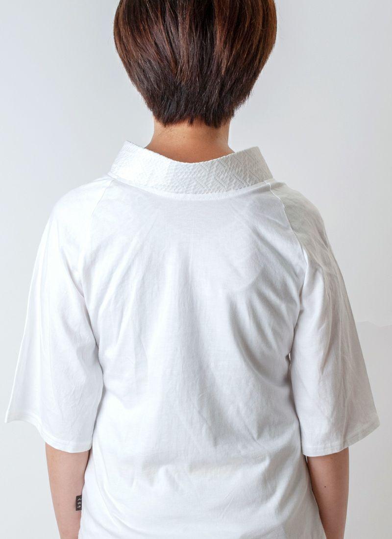 着物インナー【Legrand レース衿】ジオメトリック