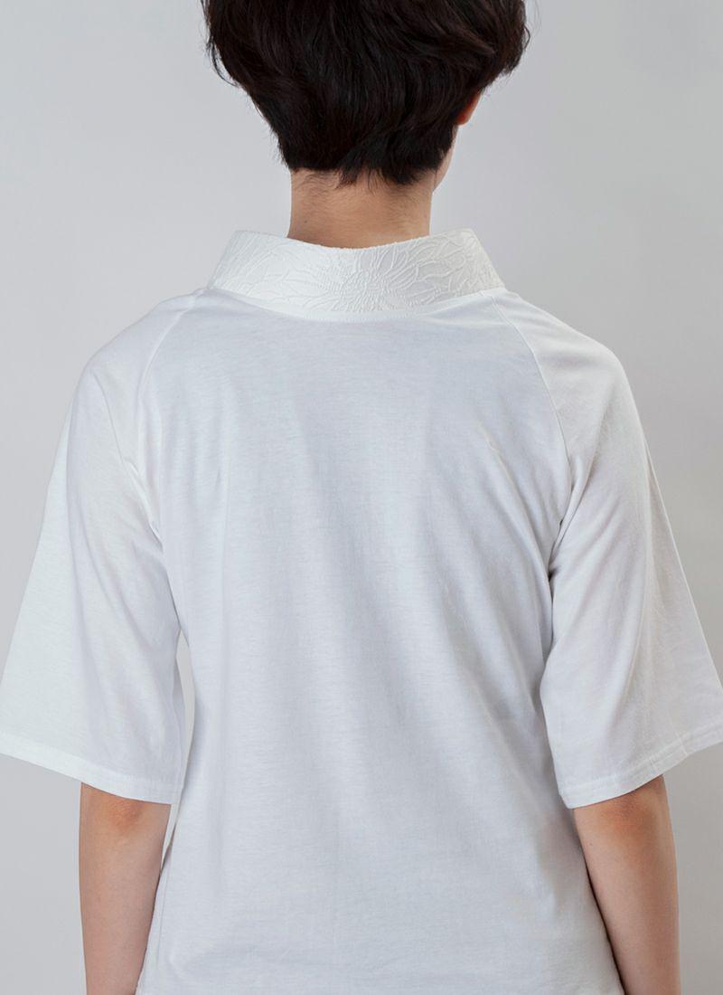 着物インナー【Legrand(ルグラン) ジャガード衿】フラワー/送料無料